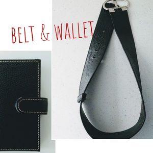 Banana Republic Belt & Bonus Wallet